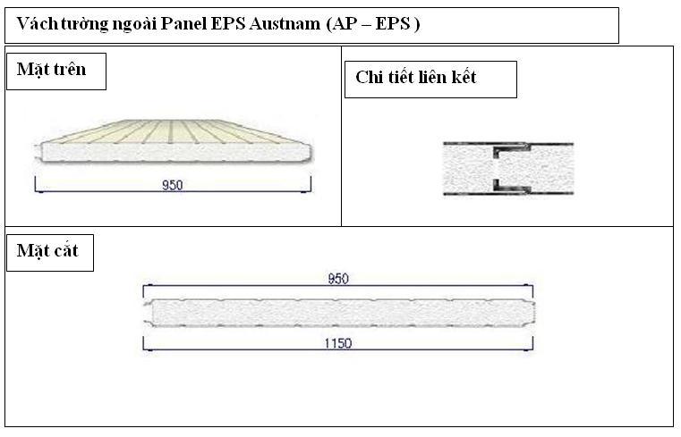 Panel EPS vách tường
